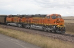BNSF 6304 and 6437 Loading at Coal Creek Mine